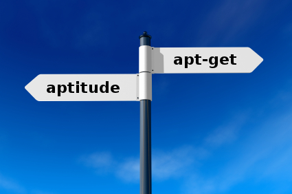 apt-get, aptitude, … pick the right Debian package manager