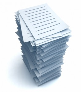 Stack of files Picture